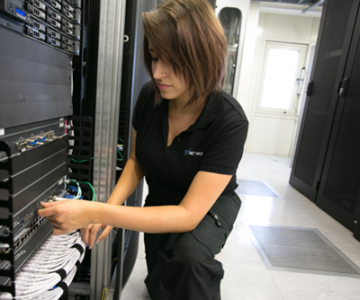 EX Networks can provide intelligent hands in this data centre